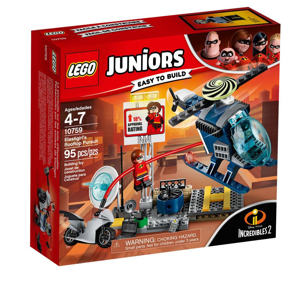 LEGO Juniors - Os Incríveis 2 - Perseguição no Telhado - Senhora Incrível - 10759