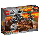 LEGO-Jurassic-World---Carnotaurus-Fuga-Girosfera---75929