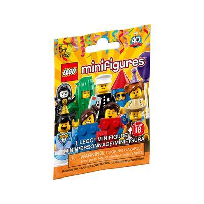 LEGO-Minifigures---Festa---Serie-18---71021