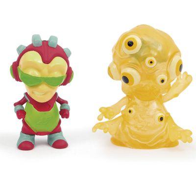 Mini-Figuras-Brilhantes---Exogini---Ranger-Danger---Muddy---Candide
