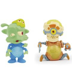 Mini-Figuras-Brilhantes---Exogini---Tim---Squid---Robojeeno---Candide