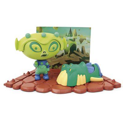 Playset-e-Mini-Figura---Hero-Eggs---Alien---Candide
