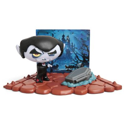 Playset-e-Mini-Figura---Hero-Eggs---Dracula---Candide