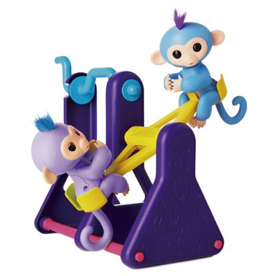 Playset-e-Mini-Figuras-Agarradinhos---Fingerlings---Balanco---Candide