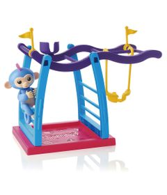Playset-e-Mini-Figuras-Agarradinhos---Fingerlings---Trampolim-e-Balanco---Candide