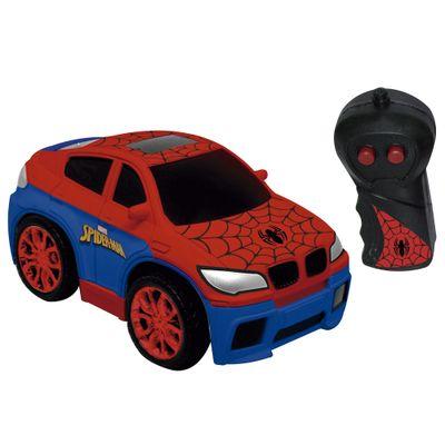Veiculo-de-Controle-Remoto---Disney---Marvel---Spider-Man---High-Speed---Classico---Candide