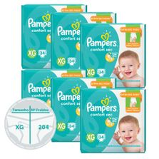 Kit-de-Fralda-Descartavel-Confort-Sec---Pampers---XG---204
