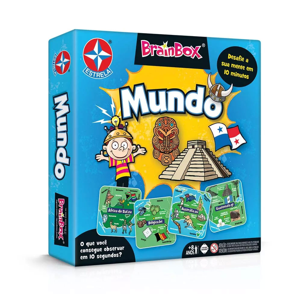 Jogo - Brainbox - Mundo - Estrela