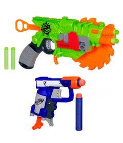 Frente-Kit-de-Lancadores---Nerf---ZombieStrike-e-N-Strike---Hasbro