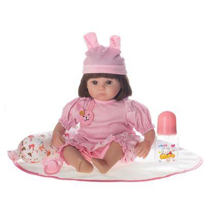 Boneca-Laura-Doll---Reborn---Baby-Nanda---Shiny-Toys