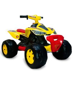 Quadriciclo-Eletrico---12V---Amarelo---Bandeirante
