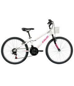 Bicicleta-ARO-24---Ceci---Branco-Personalizado---Caloi
