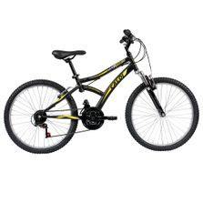 Bicicleta-ARO-24---Max-Front---Preta-e-Amarela---Caloi