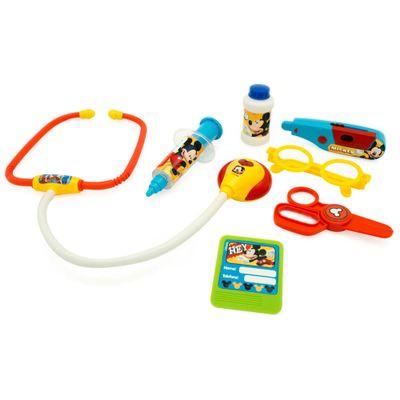 Conjunto-de-Acessorios---Kit-Medico-com-Luzes---Disney---Mickey-Mouse---Toyng