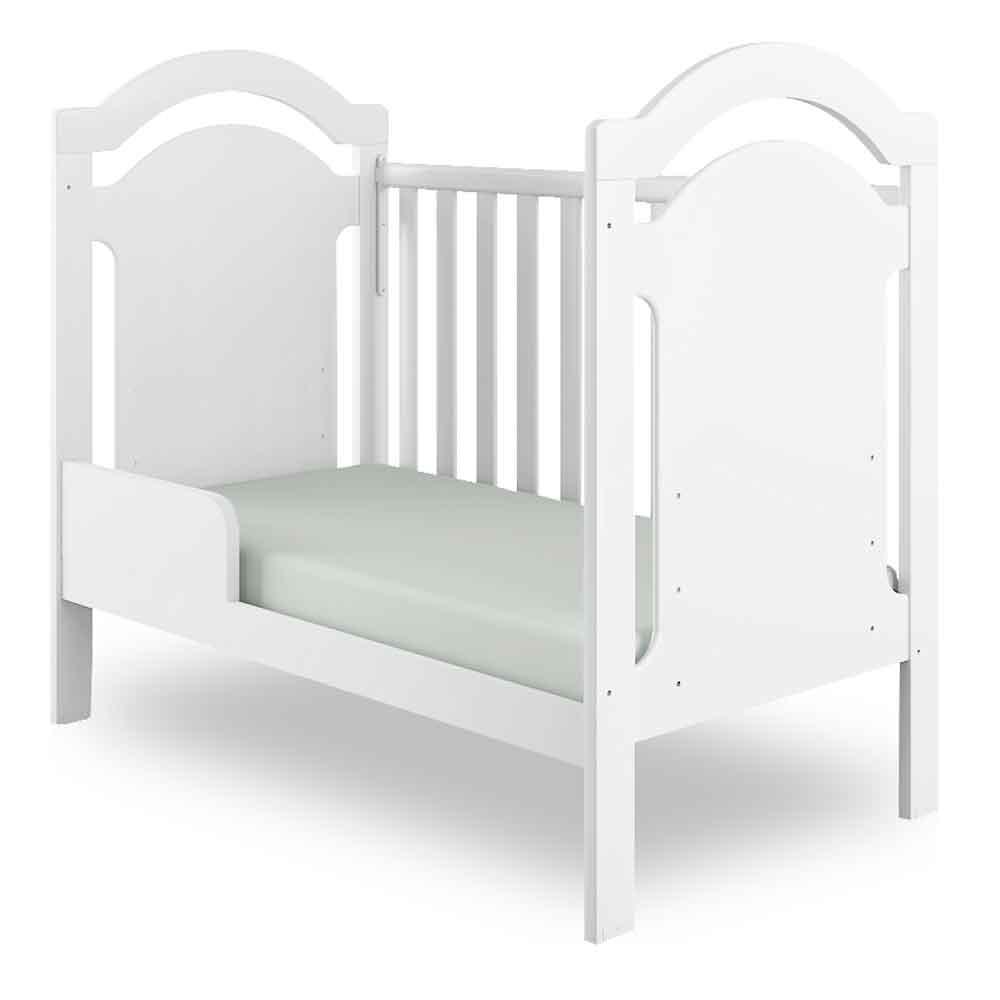Berço e Mini Cama - 3 em 1 - Carisma - Branco - Canaã Móveis