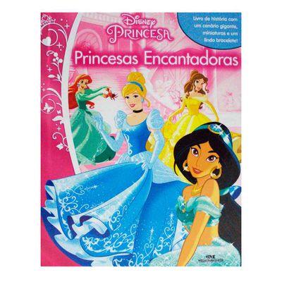 Livro---Disney---Princesas-Encantadoras---Melhoramentos