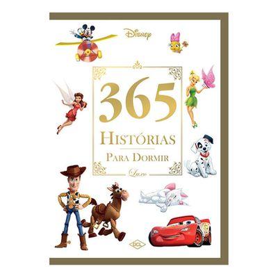 Livro-Infantil---Disney---365-Historias-para-Dormir---Edicao-Luxo---DCL-Editora
