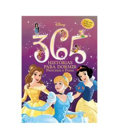 Livro-Infantil---Disney---365-Historias-para-Dormir---Princesas---Brilha-no-Escuro---DCL-Editora