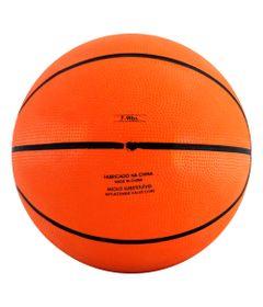 Mini-Bola-de-Basquete---17-cm---Laranja-e-Preto---Pratique-Net