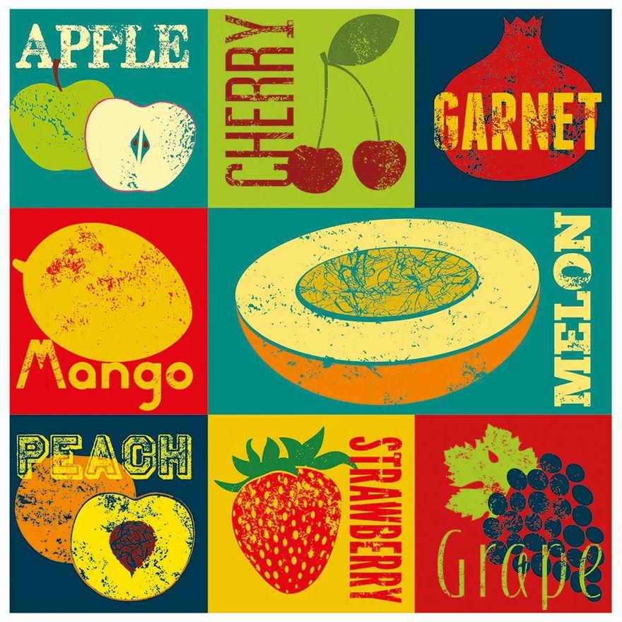 Quebra-Cabeca---Decorart---Pop-Art-Fruit---300-Pecas---Grow