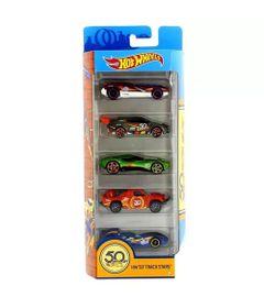 Carrinhos-Hot-Wheels---Pacote-com-5-Carros---HW-50-Track-Stars_Frente
