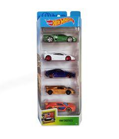 Carrinhos-Hot-Wheels---Pacote-com-5-Carros---HW-Exotics_Frente