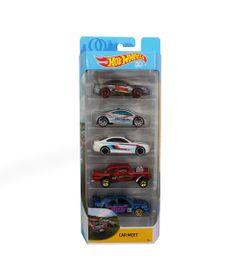 Carrinhos-Hot-Wheels---Pacote-com-5-Carros---Car-Meet_Frente