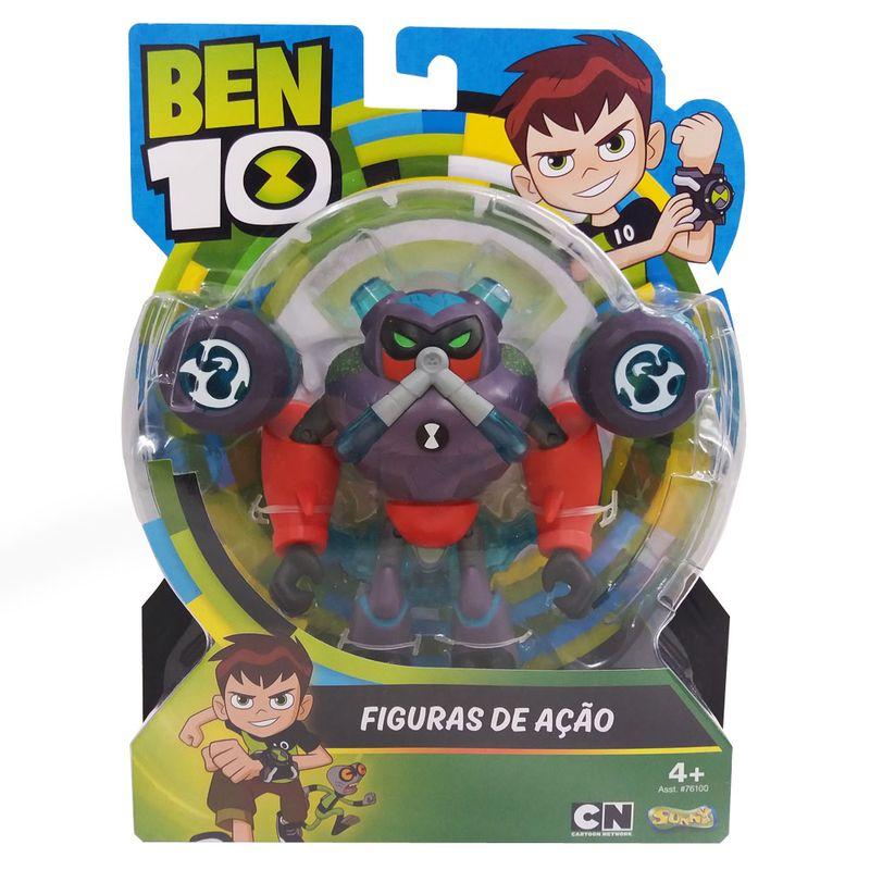 3b687a34dc Mini Figura Articulada 10 Cm - Ben 10 - Omni - Desenvolvido - Enxurrada -  Sunny - Ri Happy Brinquedos