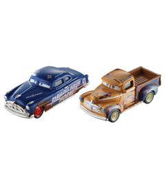 Carrinho-Die-Cast---Pack-com-2-Veiculos---Disney---Pixar---Cars-3---Heyday-Smokey-e-Hudson-Hornet---Mattel