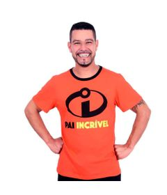 Camiseta-Adulto---Manga-Curta---Vermelha---Pai-Incrivel---Os-Incriveis-2---Disney