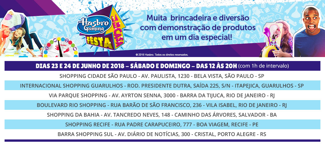 Eventos Hasbro Gaming