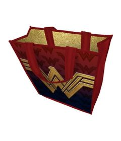Bolsa-Sacola---40-Cm---Fancy-Shinny---DC-Comics---Wonder-Woman---Urban