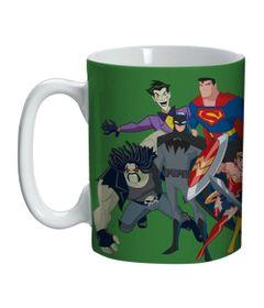 Caneca-de-Porcelana---300-Ml---DC-Comics---Liga-da-Justica---Verde---Urban