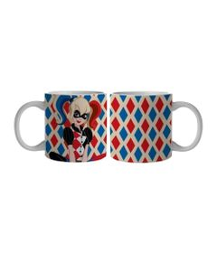 Caneca-de-Porcelana---300-Ml---DC-Comics---Super-Hero-Girls---Harley-Quinn---Urban