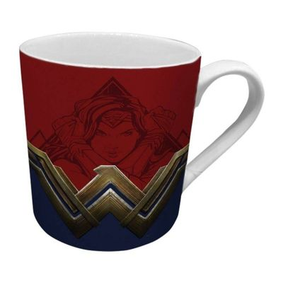 Caneca-de-Porcelana---300-Ml---DC-Comics---Wonder-Woman---Urban