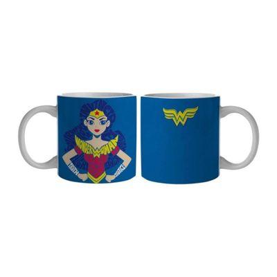 Caneca-Termica---400-Ml---DC-Comics---Super-Hero-Girls---Wonder-Woman---Urban