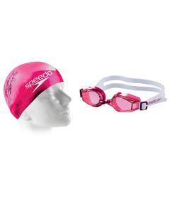 Conjunto-de-Mergulho---Swim-3.0---Touca-e-Oculos---Rosa---Speedo