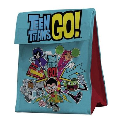 Lancheira-de-Poliester---26x19-Cm---DC-Comics---Teen-Titans-Go----Urban
