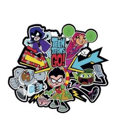 Placa-Decorativa---30Cm---DC-Comics---Teen-Titans-Go----Urban