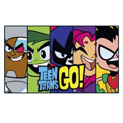 Placa-Decorativa---40-Cm---DC-Comics---Teen-Titans-Go----Urban