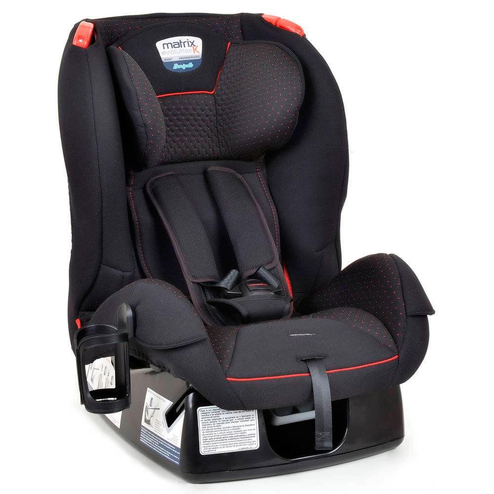 Cadeira Para Auto - De 0 a 25 Kg - Matrix Evolution K - Dot Vermelho - Burigotto