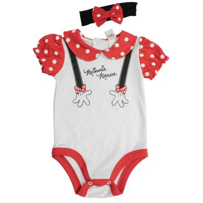 Fantasia-Infantil---Body-com-Tiara---Manga-Curta---Minnie---Disney---M