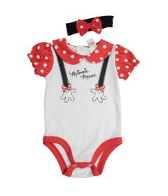 Fantasia-Infantil---Body-com-Tiara---Manga-Curta---Minnie---Disney---P