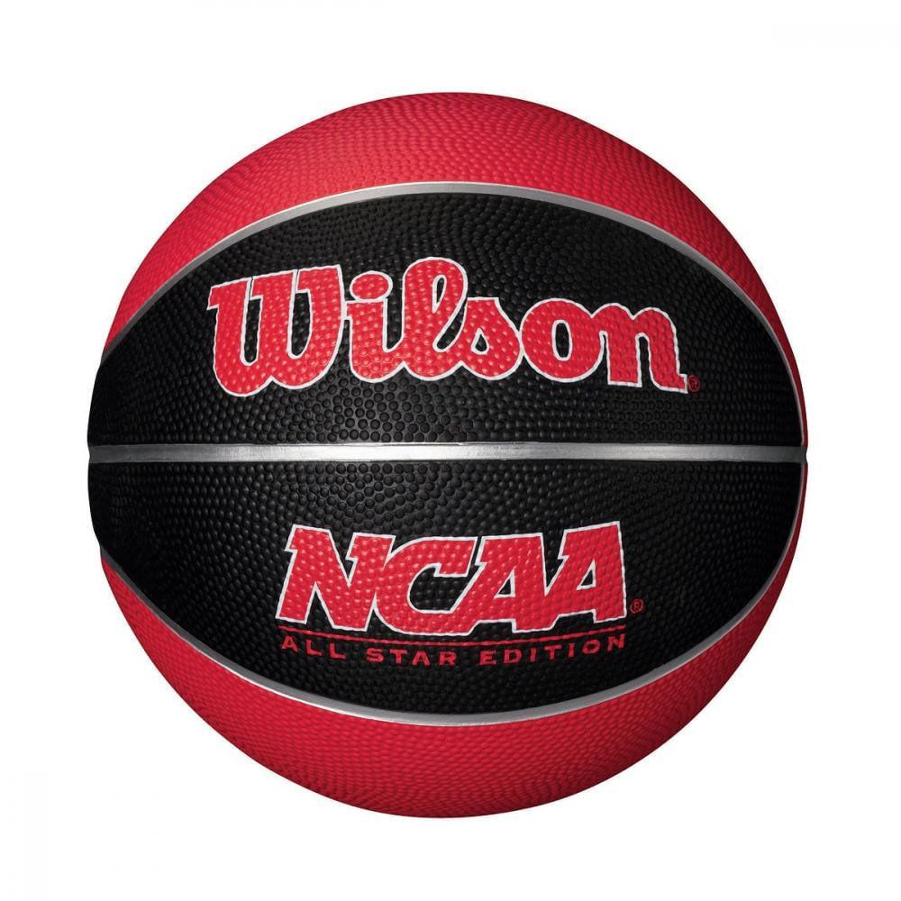 Bola de Basquete - NCAA - Vermelha - Wilson