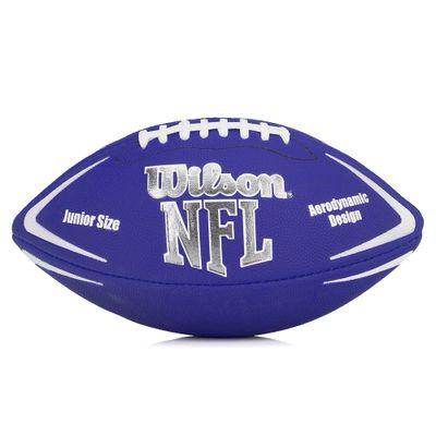 Bola-de-Futebol-Americano---Infantil---Avenger-NFL---Azul---Wilson