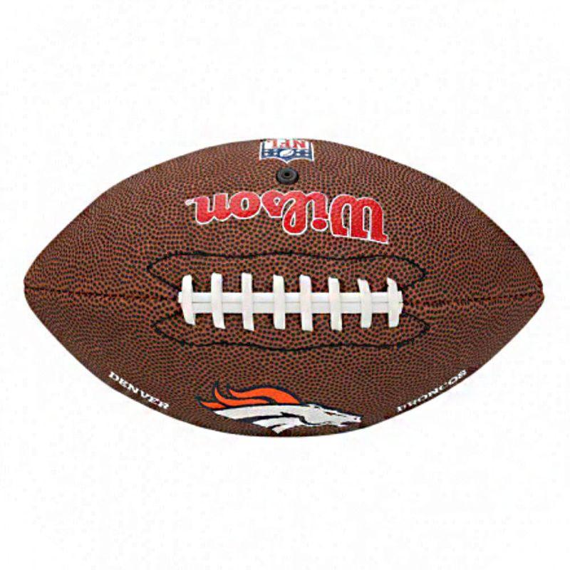 Bola de Futebol Americano - Infantil - Denver Broncos - Wilson - Ri Happy  Brinquedos 440f56c74edcc