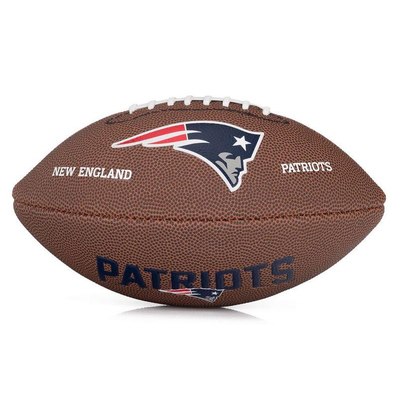 Bola de Futebol Americano - Infantil - New England Patriots - Wilson - Ri  Happy Brinquedos e70ba1ba72bb3