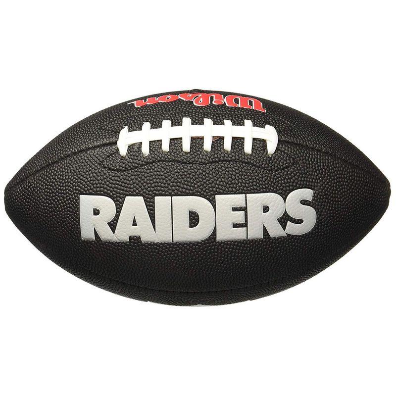 Bola de Futebol Americano - Infantil - Oakland Raiders - Wilson - PBKIDS 4353e3ae6837b