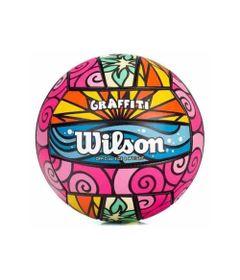 Bola-de-Volei---Graffiti---Rosa---Wilson