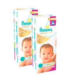 Kit-de-Fraldas-Descartaveis-Premium-Care-Mega---Pampers